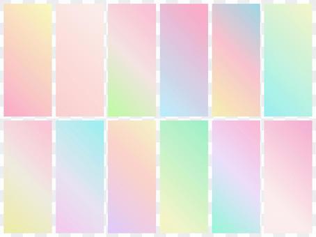 漸變2 /色板/背景春天的顏色