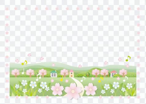 櫻桃景觀框架