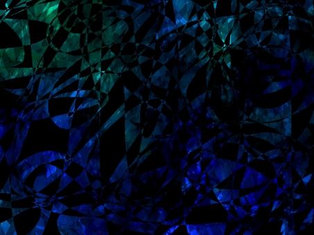 藍色和綠色的閃光寶石紋理背景