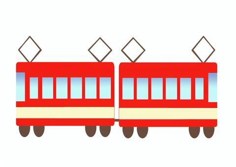 紅色的火車