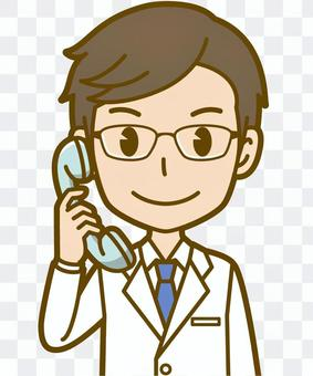 Male (doctor): A_phone 01BS