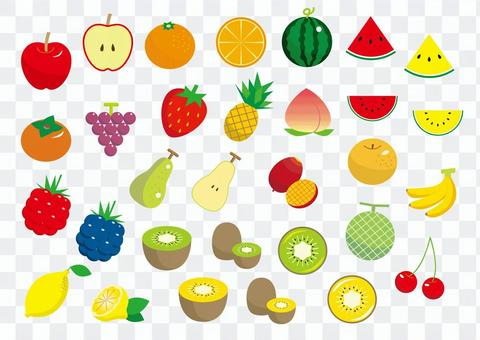 水果材料集