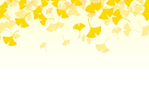 銀杏の背景素材1