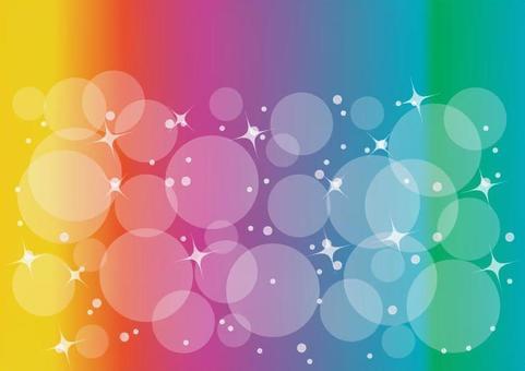 呈虹彩閃閃發光的背景