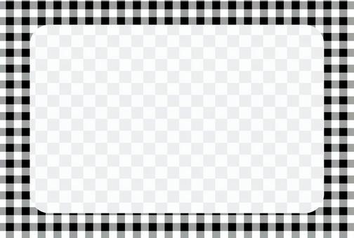 檢查相框POSCA 05 [透明]
