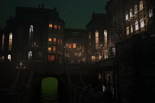 神奇國度夜街角