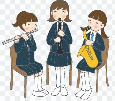 Wooden Trio Female Blazer