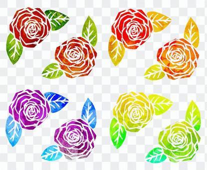 Roses illustration 01