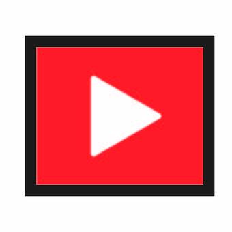 影片播放button_red_square