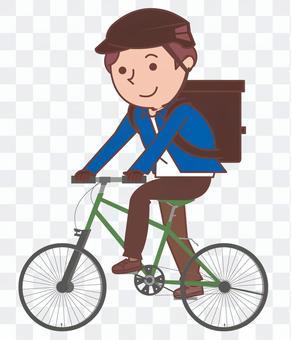 自行車送貨員