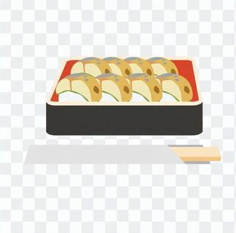 鯖魚壽司3