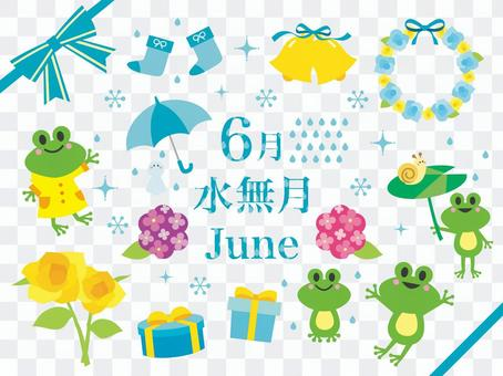 六月的插圖