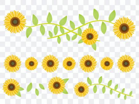 向日葵設計零件集