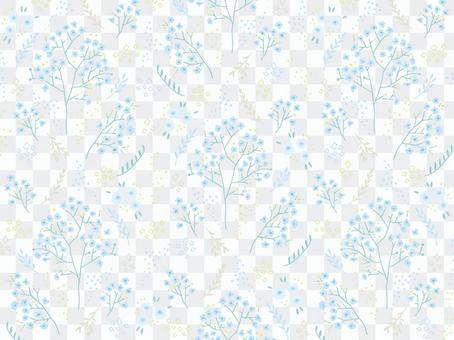 霞草壁紙(白色背景)
