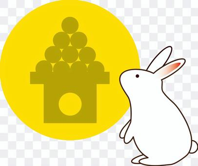 月光04(月亮和兔子,dango)