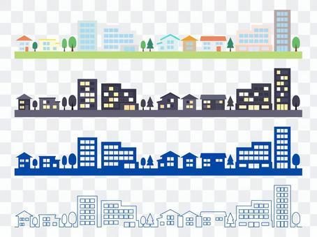 城市景觀圖集