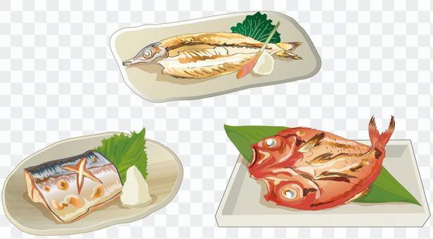 焼き魚 セット