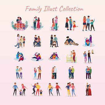 幸福的家庭生活