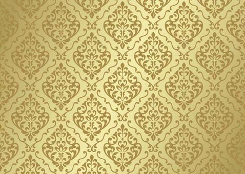 Damask pattern european background
