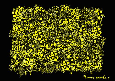 Background material Hanazono Yellow