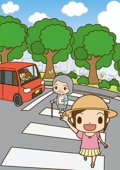 交通安全人行橫道7
