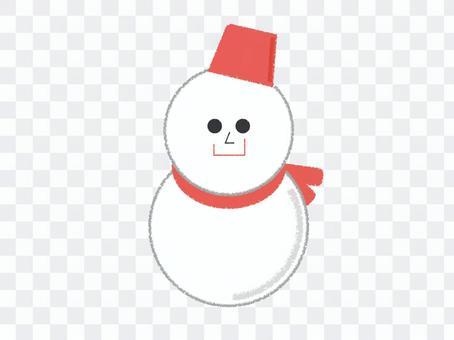 雪雪人雪人冬天雪標記