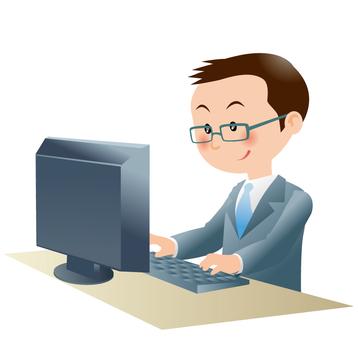个人电脑和上班族