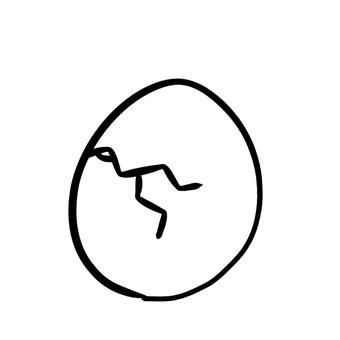 破裂的雞蛋
