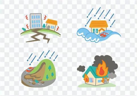 Disaster illustration
