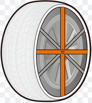 織物輪胎鏈