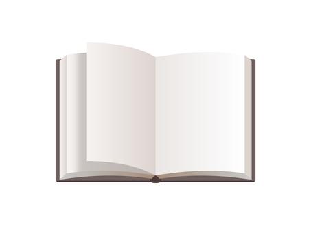 打開書本、筆記本、翻蓋