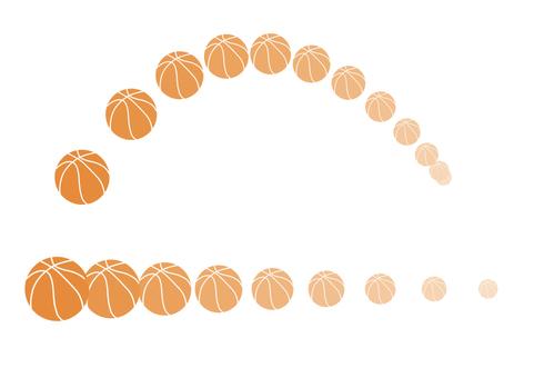 Basketball pass shoot orbit