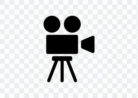 動画 カメラ アイコン