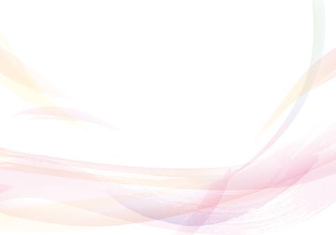 女人/幸福/美麗形像水彩手繪背景