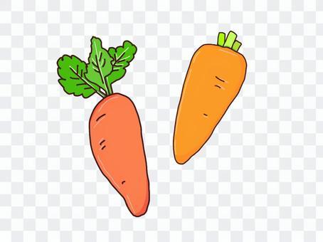 簡單的胡蘿蔔