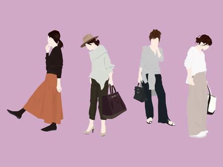 Adult women's set 32