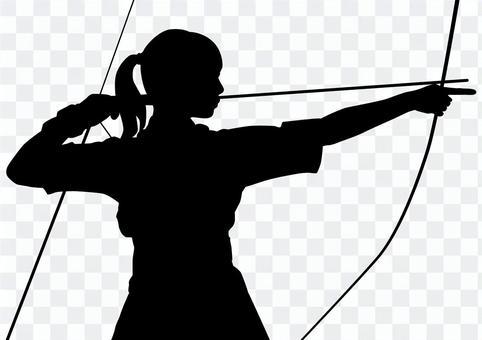 射箭·女性