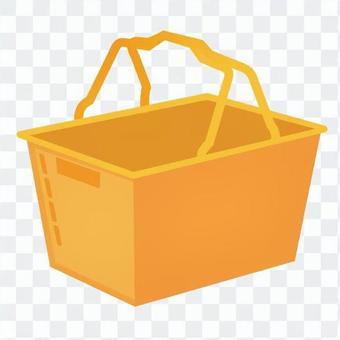 購物籃(橙色)