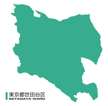 東京_世田谷區_地圖