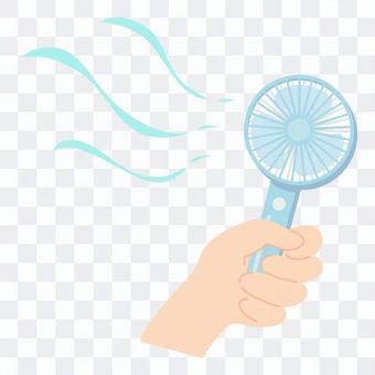 涼爽便捷的風扇材質2