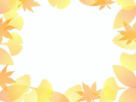 Fallen Leaf Frame 1