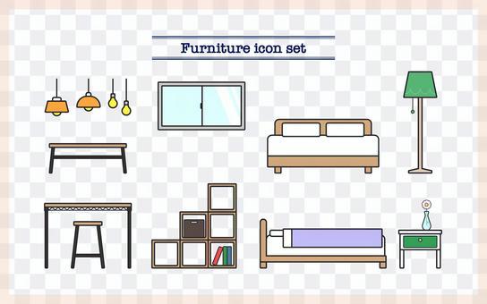 家具圖標集②