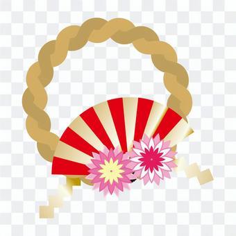 Simple illustration _ New Year decoration