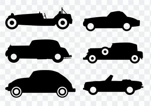 經典的汽車圖標