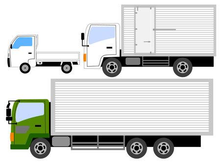 工作車 輕型卡車 中小型重型卡車