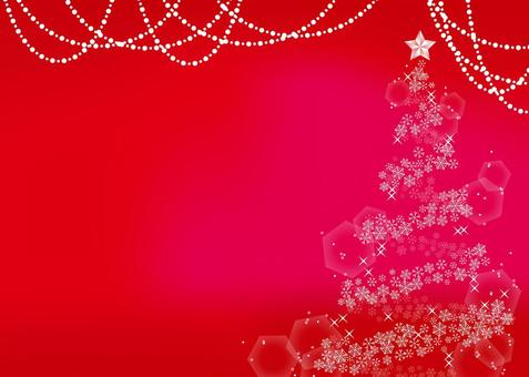A4聖誕框架背景水平,與油漆