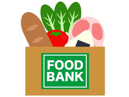 Food bank illustration