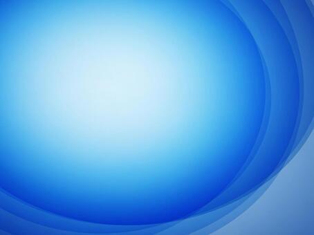 背景藍色圓