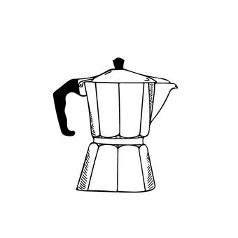 直接火咖啡機圖
