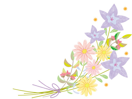 秋花花束2_斯堪的納維亞風格